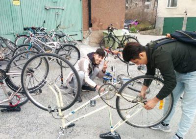 Cykelköket april 2017