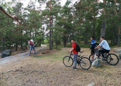 cykelutflykt 2017 Erstavik
