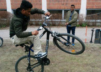 cykelutflykt Uppsala 2017 Mahmud